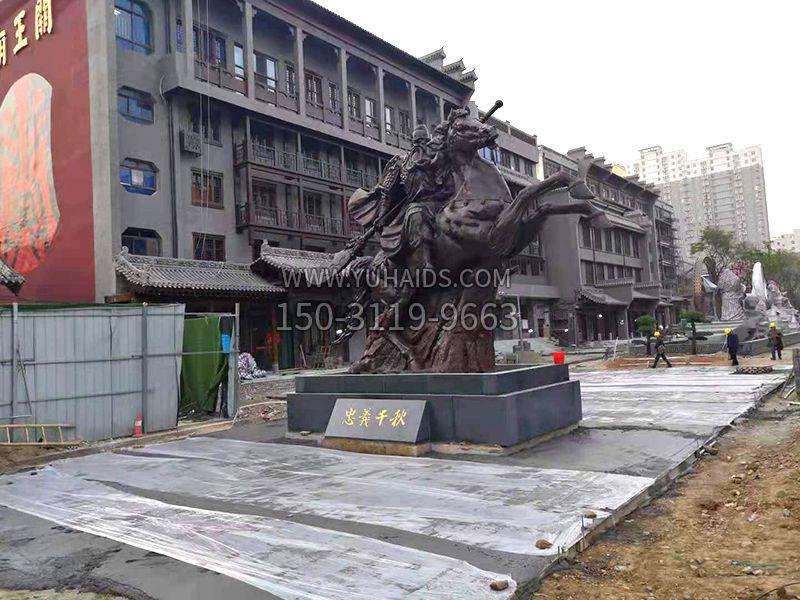 运城关王庙关帝雕塑